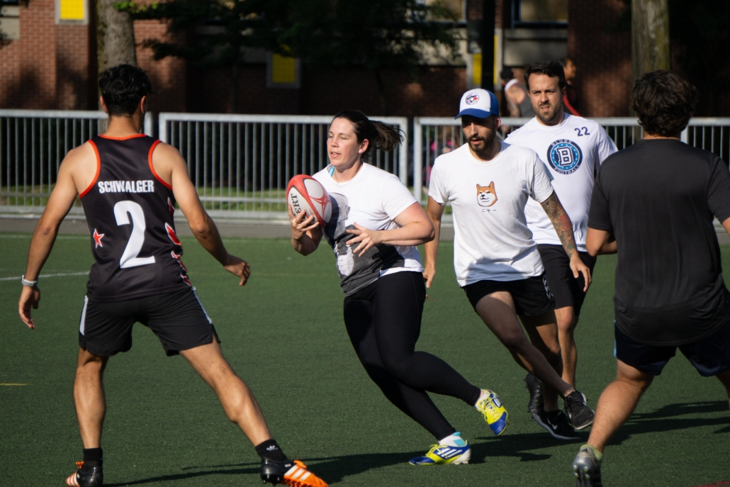Touch Rugby in Vancouver