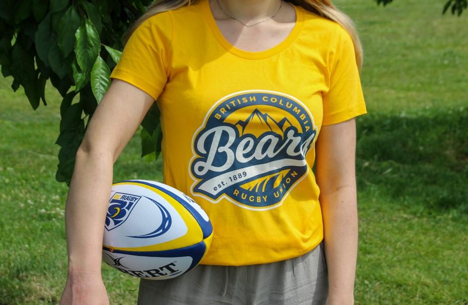 BC Bears tshirt Gold