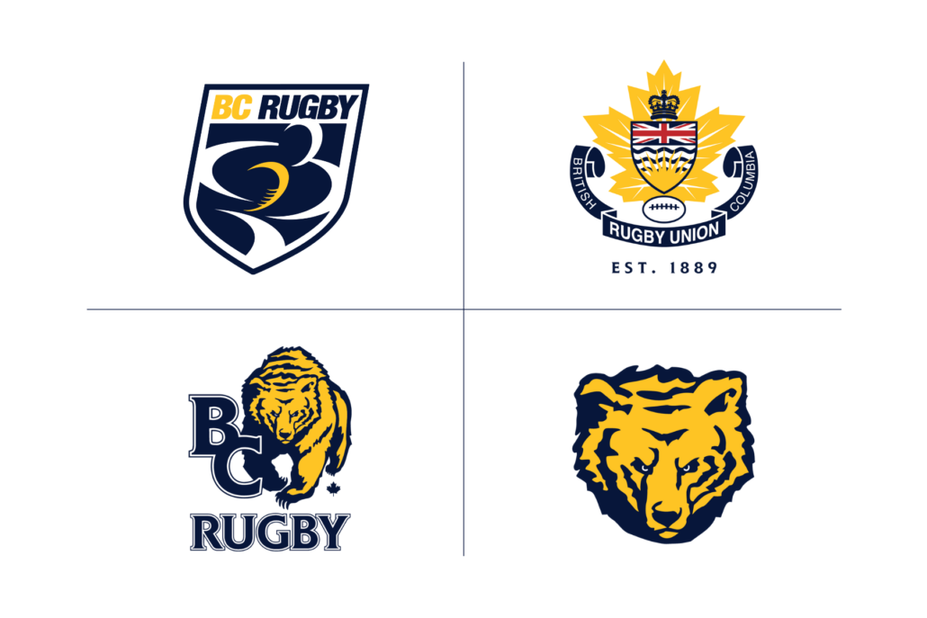 BC Rugby Logos