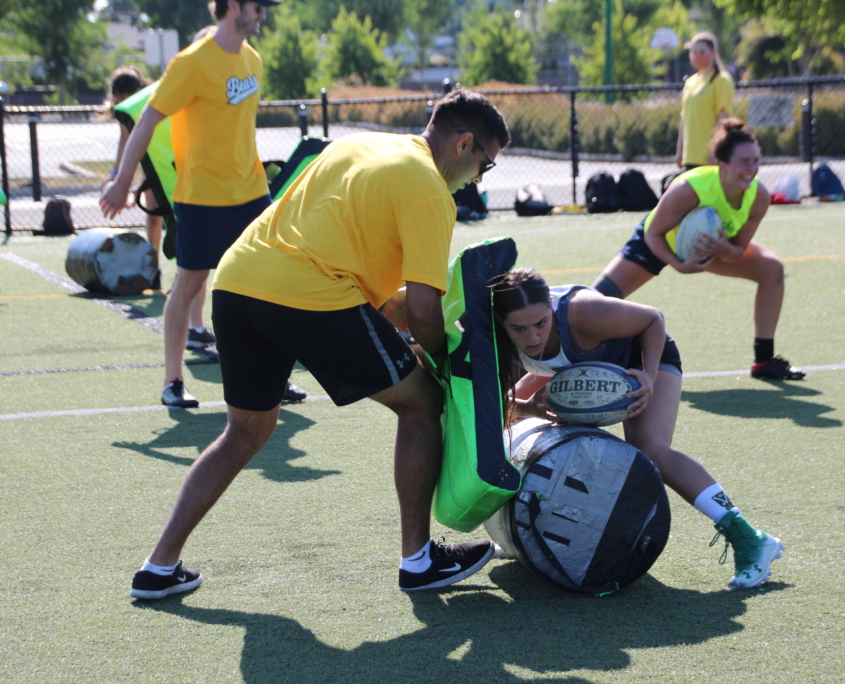 BC Rugby Tackle Bags