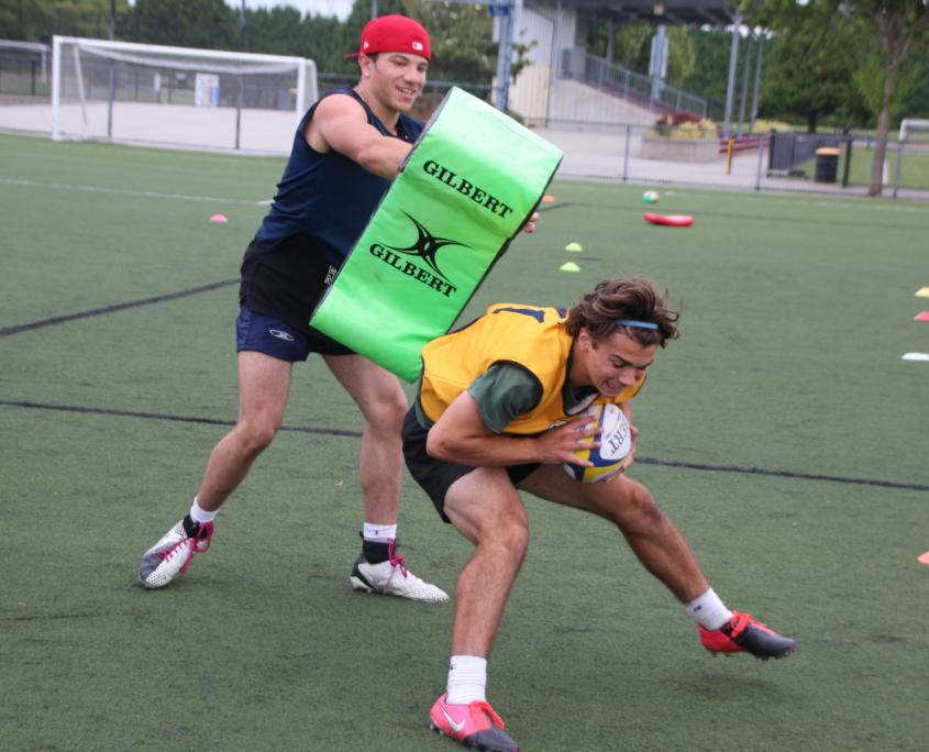 BC RUgby Boys Training