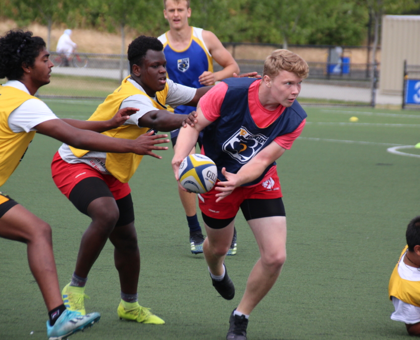 BC Rugby Boys Action