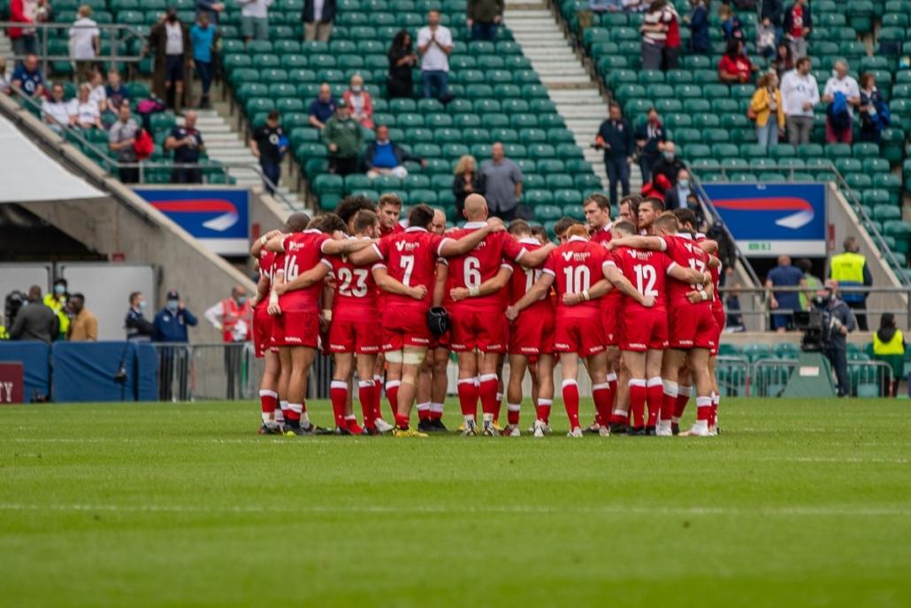 Rugby Canada Men's XVs Huddle