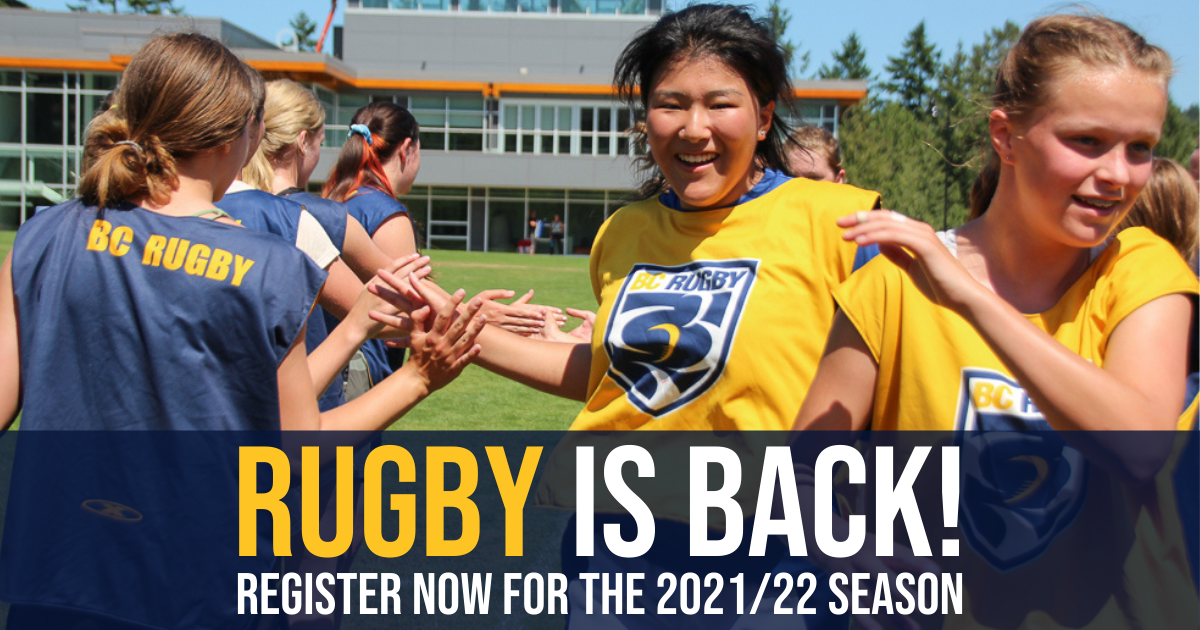 Rugby is Back - Register Now!