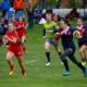 An Age-Grade girls junior match