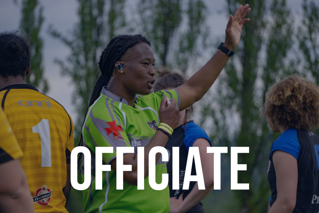 Join The Game - Officiate