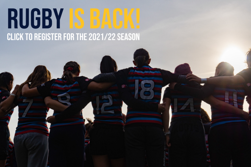 Rugby is back - click to register