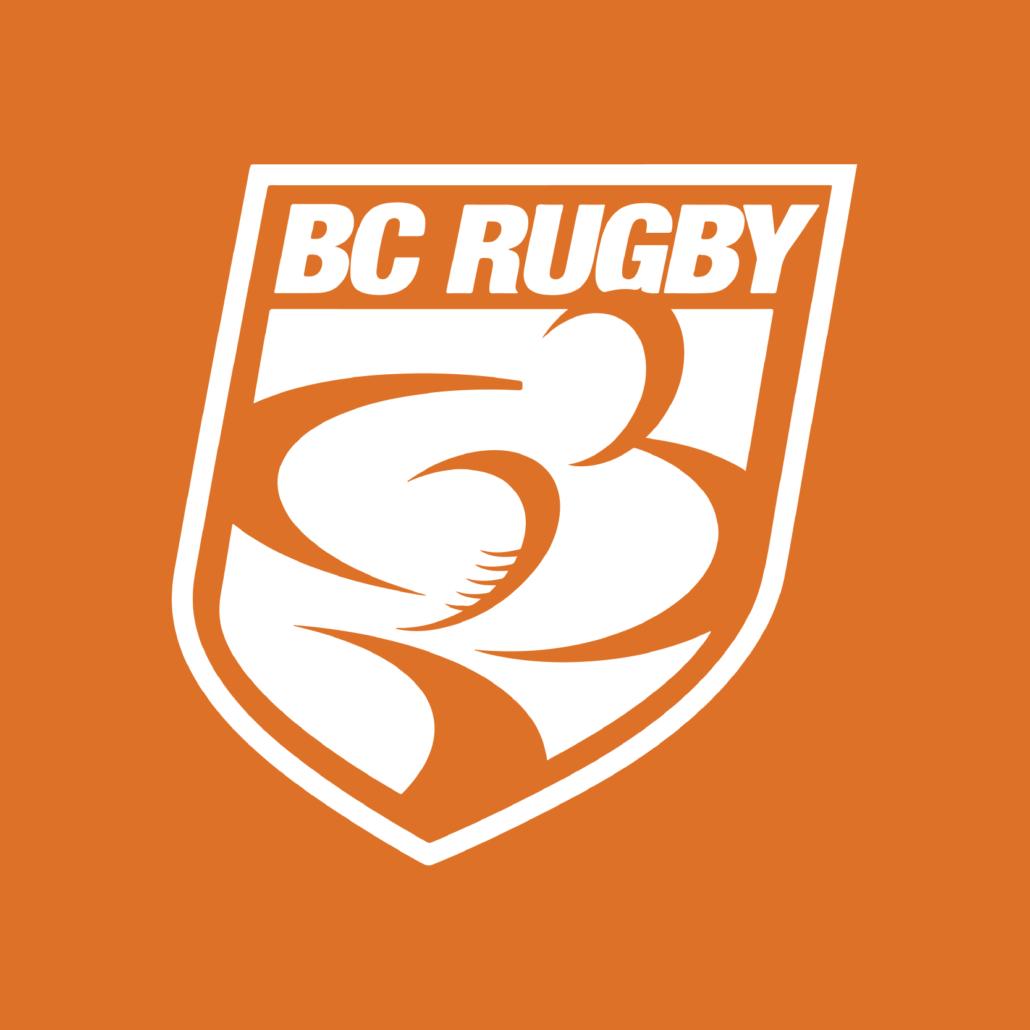 BC Rugby Orange Shirt Day Logo