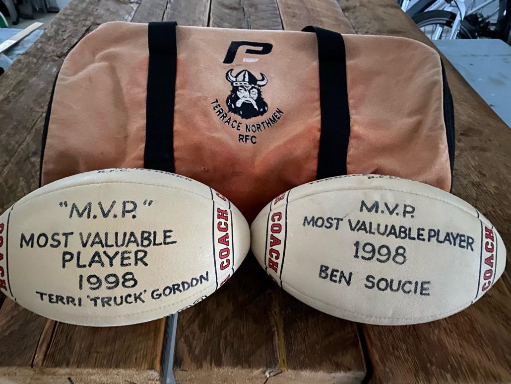 Ben Soucie and wife's MVP Balls