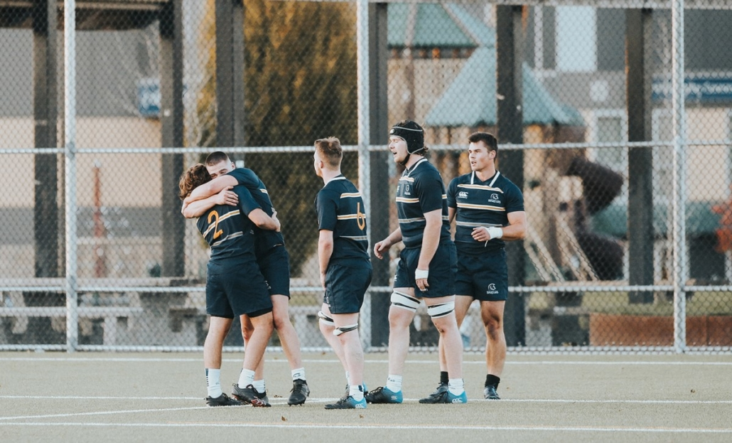 Spartans Rugby players during training